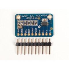 ADS1015 12bit ADC 4Channel+Progrmmable Gain Amplifier (Adafruit 1083)