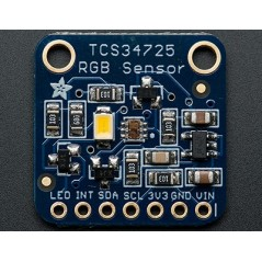 RGB Color Sensor with IR filter TCS34725 (Adafruit 1334)