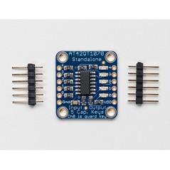 Standalone 5-Pad Capacitive Touch Sensor  AT42QT1070 (Adafruit 1362)