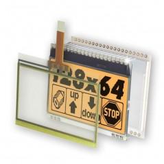 EADOGM128W-6 LCM Graf. 128x64 poz. Transflective (ELECTRONIC ASSEMBLY)