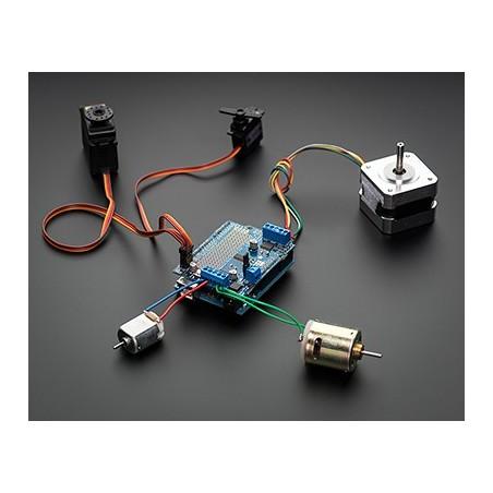 Motor/Stepper/Servo Shield for Arduino v2 Kit - v2 0 (Adafruit 1438)