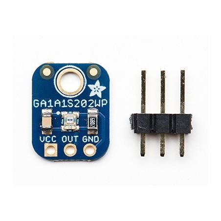 GA1A12S202 Log-scale Analog Light Sensor (Adafruit 1384)