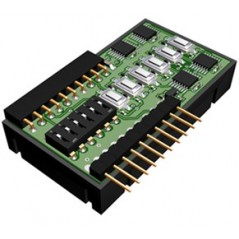 DDC-IO-01 (IQRF) DDC I/O kit: 6x I/O, buttons,pull-downs, 6xLED