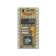 BS2P24 (Parallax) BASIC Stamp 2p 24-Pin Microcontroller Module
