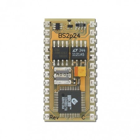 BS2P24 (Parallax) BASIC Stamp 2p 24-Pin Microcontroller Module