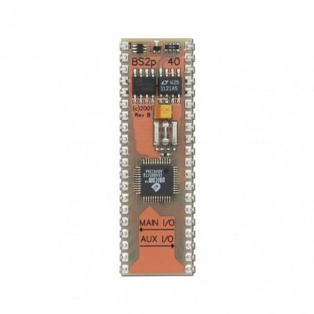 BS2P40 (Parallax) BASIC Stamp 2p 40-Pin Microcontroller Module