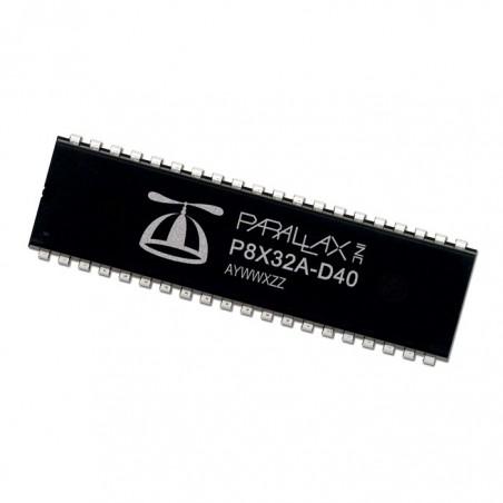 P8X32A-D40 (Parallax) Propeller Chip - 40-Pin DIP Chip