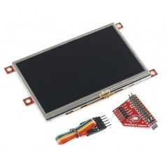 "Raspberry Pi Display Module 4.3"" Touchscreen LCD (Sparkfun)"