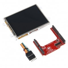 "Arduino LCD Display Module - 3.2"" Touchscreen LCD (SparkFun)"