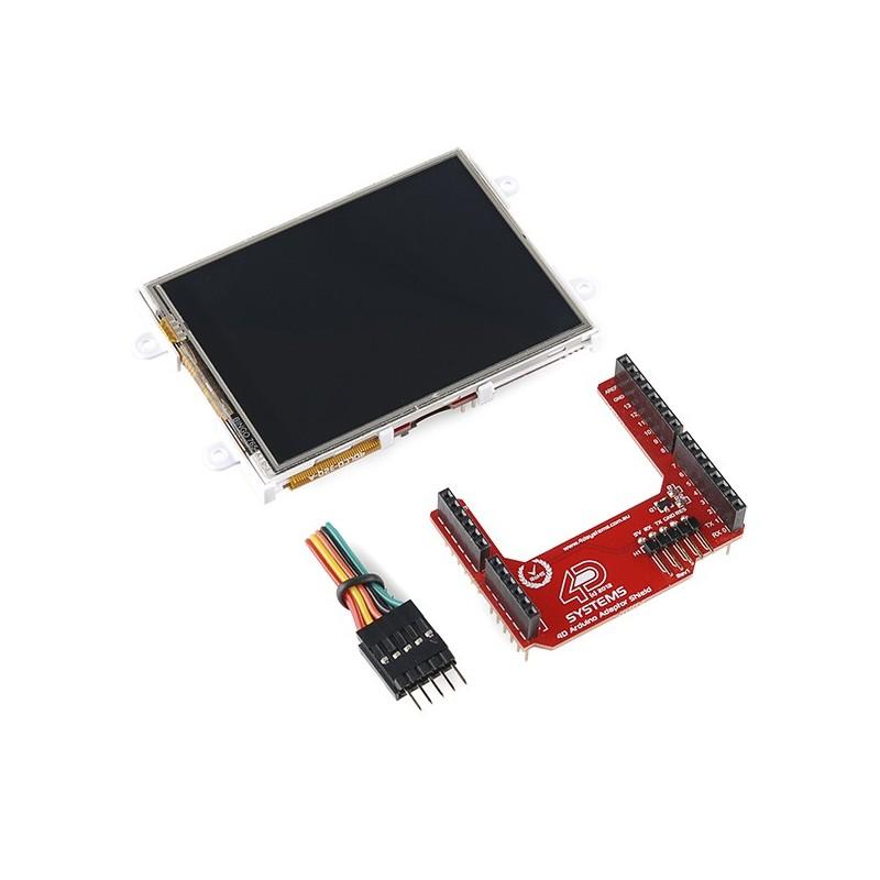 Arduino lcd display module quot touchscreen