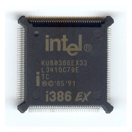 KU80386EXTC33 INTEL 5V 33MHZ QFP132