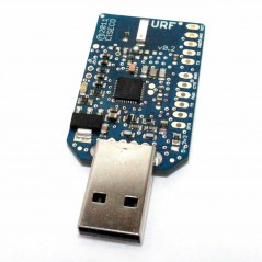 URF radio module and serial inteface via USB (CISECO R002)