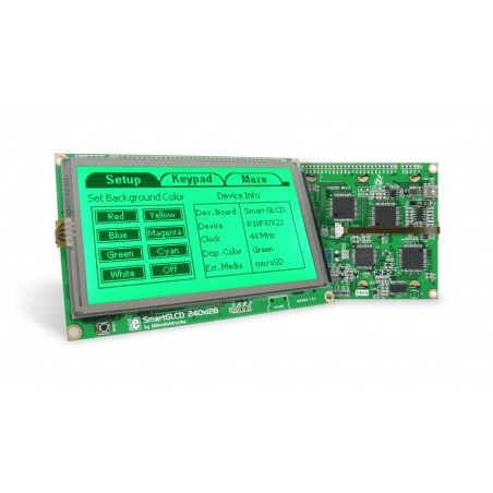 SmartGLCD 240x128 Board (Mikroelektronika)