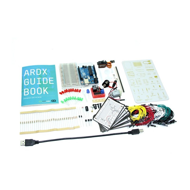 ARDX - The starter kit for Arduino (Seeed KIT04121P)