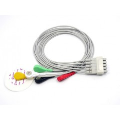 5 lead ECG cable - Marquette Compatible (Seeed MED60320M)