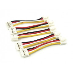 Grove - Universal 4 Pin Buckled 5cm Cable 5pcss Pack (Seeed ACC83054O)