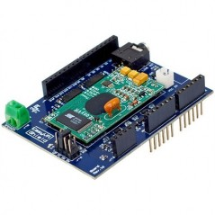 EasyVR Arduino Shield 2.0 (VeeaR) Multi-language speech recognition Arduino shield