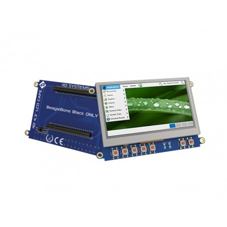 """LCD 4.3"""" Cape for BeagleBone Black ‐ Touch Display (Seeed LCD00700B)"""