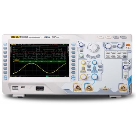 MSO4052 (Rigol) 2x500MHz,  4 GS/s, 16 Digital channels