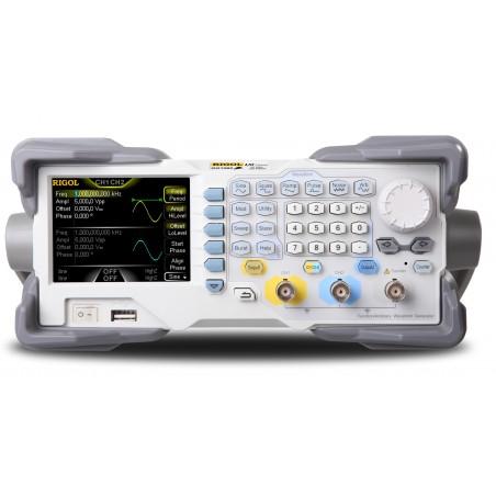 DG1032Z (Rigol) 2x30MHz, 14 bit, 200 MS/s
