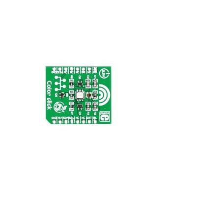 Color click (Mikroelektronika) TCS3471 color light sensor