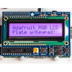 LCD 16x2 RGB Positive+Keypad Kit for Raspberry Pi (Adafruit 1109)