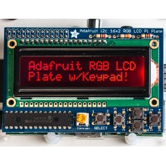LCD16x2 RGB Negative+Keypad Kit for Raspberry Pi (Adafruit 1110)