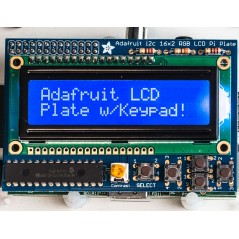 LCD16x2 Blue&White+Keypad Kit for Raspberry Pi (Adafruit 1115)