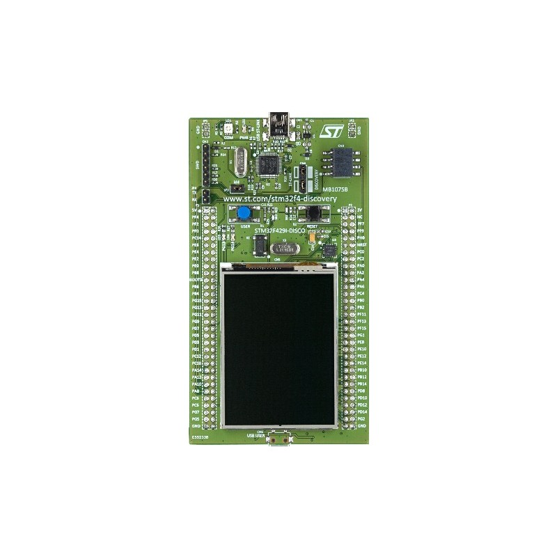 STM32F429IDISCO Discovery kit for STM32 F429/439, with STM32F429ZI + 2 4