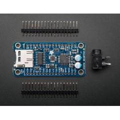 VS1053 Codec + MicroSD Breakout - MP3/WAV/MIDI/OGG Play + Record - v2 (Adafruit 1381)