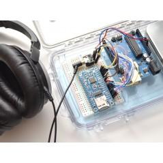 VS1053 Codec + MicroSD Breakout - MP3/WAV/MIDI/OGG Play + Record - v4 (Adafruit 1381)