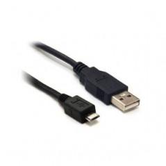 1.8M USB A PLUG TO USB B MICRO PLUG , BLACK (CCP-mUSB2-AMBM-6) microUSB kabel