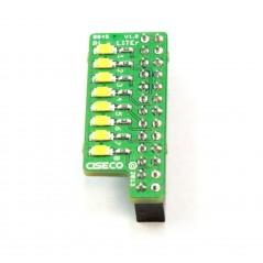 Pi-LITEr - 8 LED strip for the Raspberry Pi (CISECO B045)
