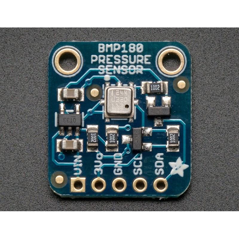 BMP180 Barometric Pressure/Temperature/Altitude Sensor 5V  (Adafruit 1603)