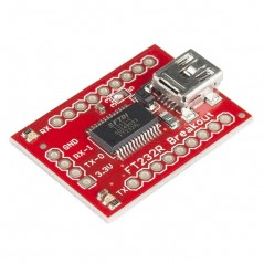 Breakout Board for FT232RL USB to Serial (Sparkfun BOB-00718) USB to UART