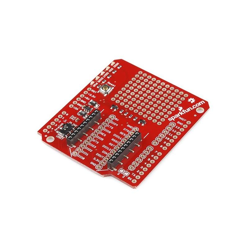 Xbee shield for arduino sparkfun wrl rlx