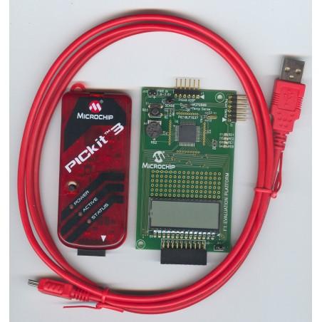 DV164132 F1 Evaluation Kit  (MICROCHIP)