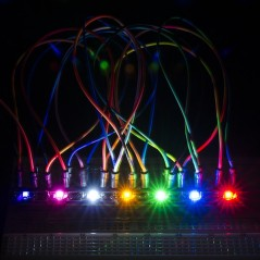 LilyPad Rainbow LED strip of 7 colors (Sparkfun DEV-11842)