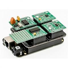 BeagleBone mikroBUS Cape (BeagleBone Black to Click Boards)