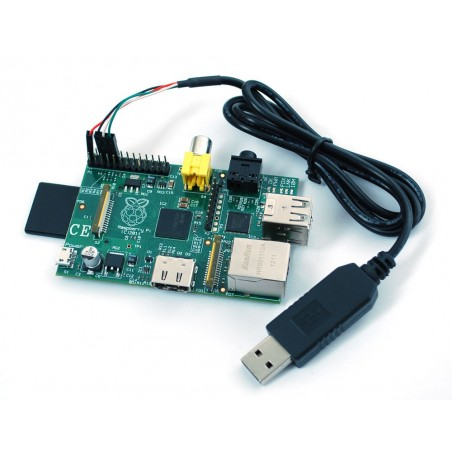 USB to TTL Serial Cable - Debug / Console Cable for Raspberry Pi (Adafruit 954)