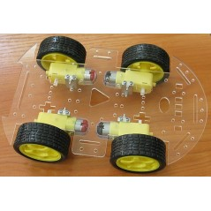 ROBOT-4-WHEEL-KIT (Olimex)