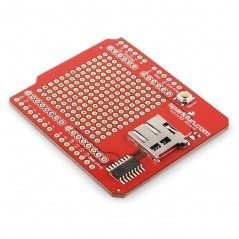 microSD Shield for Arduino (Sparkfun DEV-09802)
