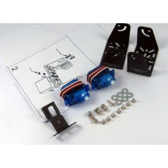 Sensor Pan/Tilt Kit with Servomotor (Dagu ECS000079)