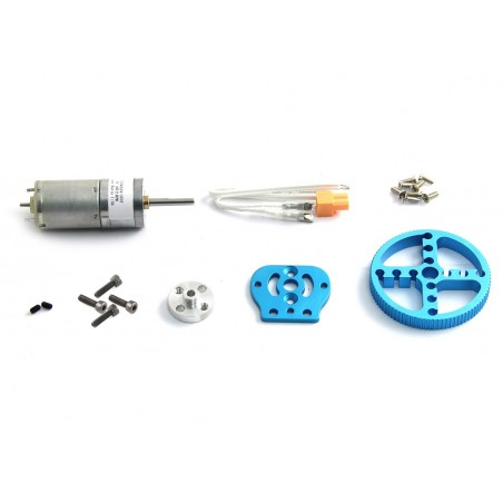 25mm DC Motor Pack (Makeblock 80071) Blue