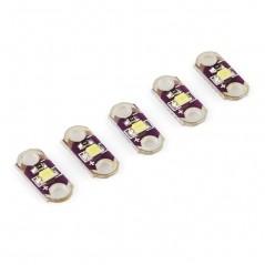 LilyPad LED White 5ks / 5pcs (Sparkfun DEV-10081)