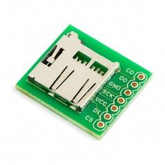 Breakout Board for microSD Transflash (Sparkfun BOB-00544)