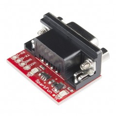 RS232 Shifter SMD (Sparkfun PRT-0044) convert RS232 to TTL
