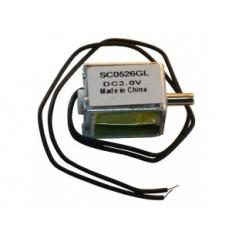 AIR-E-VALVE-3V (Olimex) AIR ELECTROMAGNETIC VALVE, WORKING VOLTAGE 3VDC