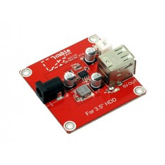 """3.5"""" HDD Addon Package (Seeed10199001) connect HDD to Cubieboard"""