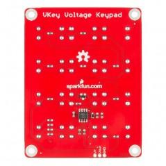 VKey Voltage Keypad 3x4 (Sparkfun PRT-12080) output analog voltage